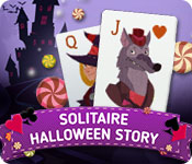 Solitaire Halloween Story